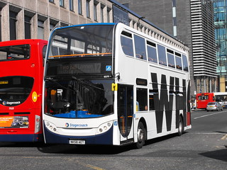 Stagecoach in Newcastle 19379 NK58AET