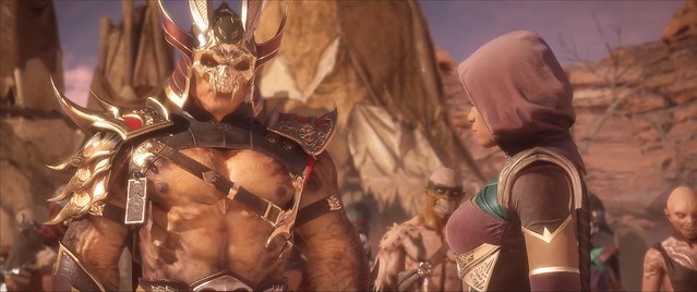 Mortal Kombat 11 - Kotal Gets Captured