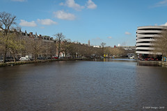 Canal P�riph�rique (Singelgracht), Elandsgracht - Amsterdam (Pays-Bas) 27/03/2019