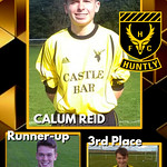 Under 20s player of the year: Calum Reid