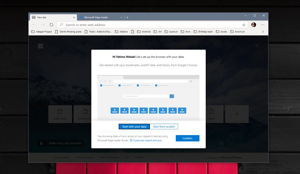 How to try Edge based on Chromium on Windows 10