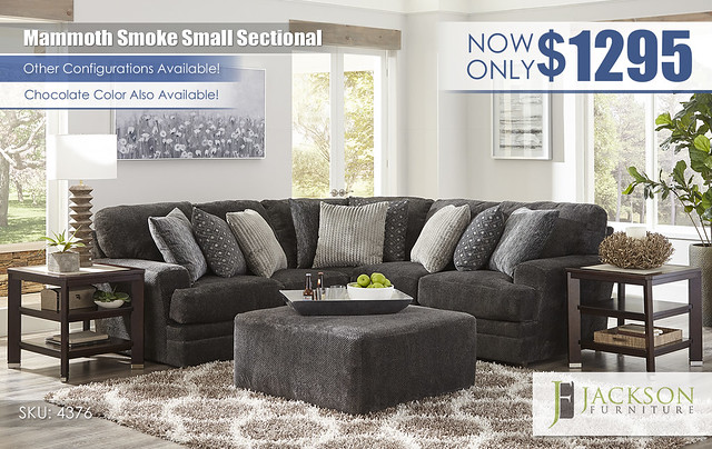 Mammoth Smoke Small Sectional by Jackson Furniture_4376