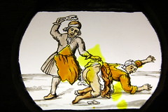 spanking her