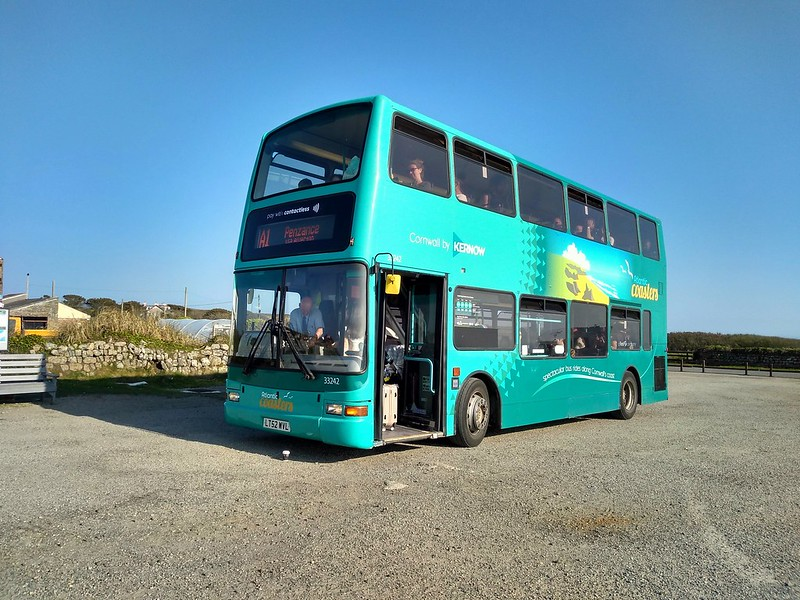 First Kernow 33242 at Lands End on service A1