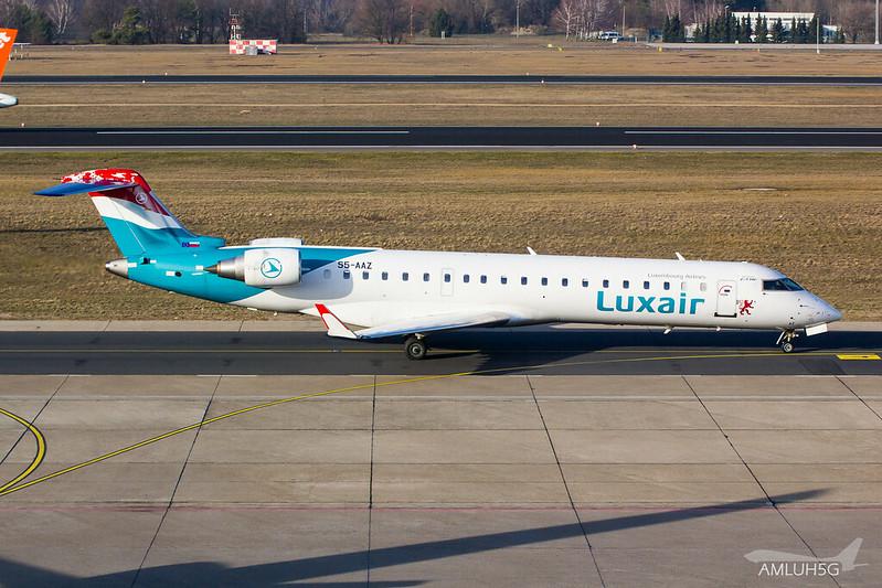 Luxair - CRJ7 - S5-AAZ (1)