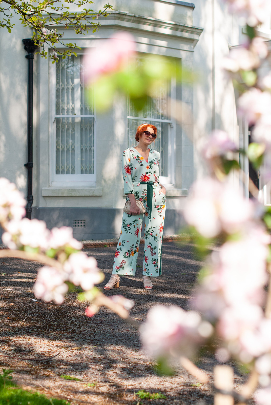 Over 40 Fashion: A Floral Jumpsuit and Nude Sandals For Every Summer Wedding, Garden Party and Event | Not Dressed As Lamb