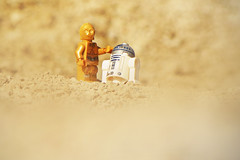LEGO C-3PO and R2-D2