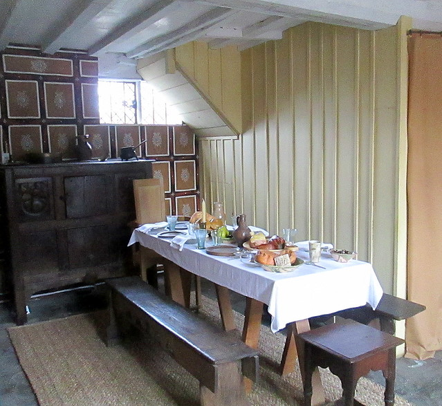 Room in Shakespeare's House, Stratford-upon-Avon