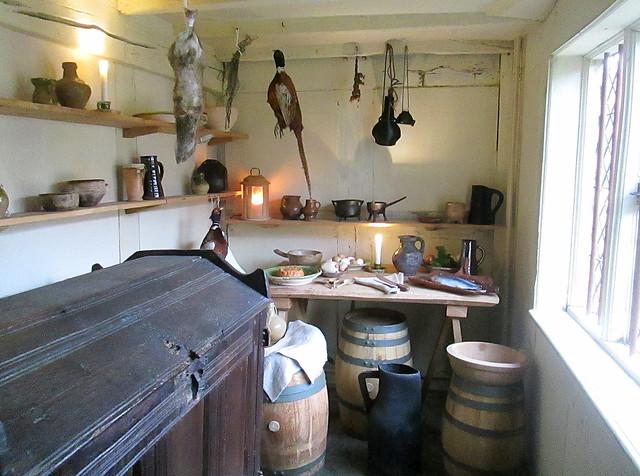 Kitchen Storage, Shakespeare's House, Stratford-upon-Avon