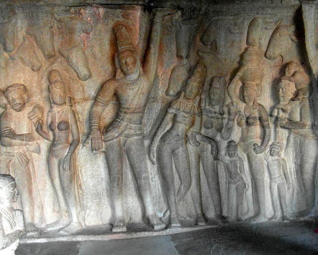 mahabalipuram granite people