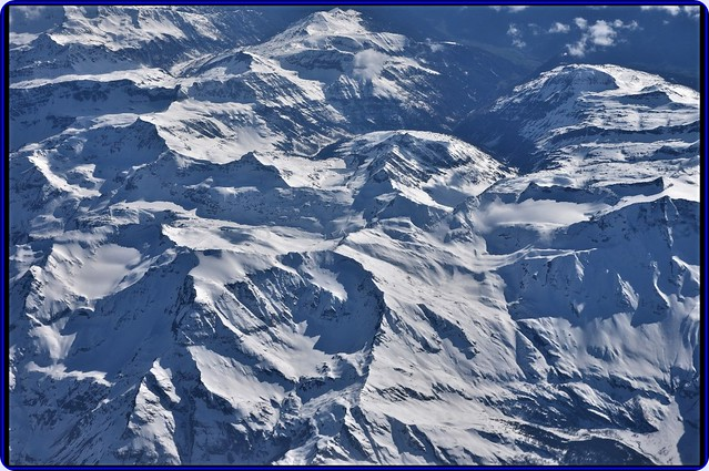 Flying over Austrian Alps-2
