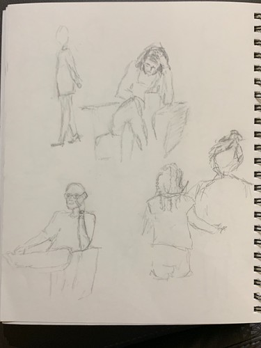People Drawing People April 2019
