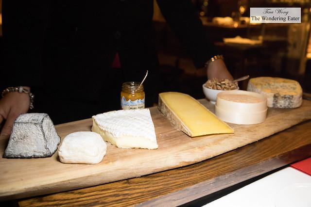 Artisan French cheese board by Bernard Antony