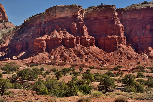 Layer Upon Layer of Rock Showing Eras in the Earth and History (Capitol Reef National Park) | by thor_mark 