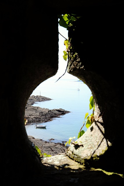 Through the keyhole ?