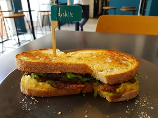 Toastie Special at Dicki's