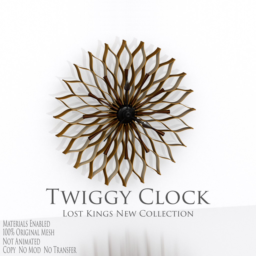 Lost Kings – Twiggy Clock – Ad