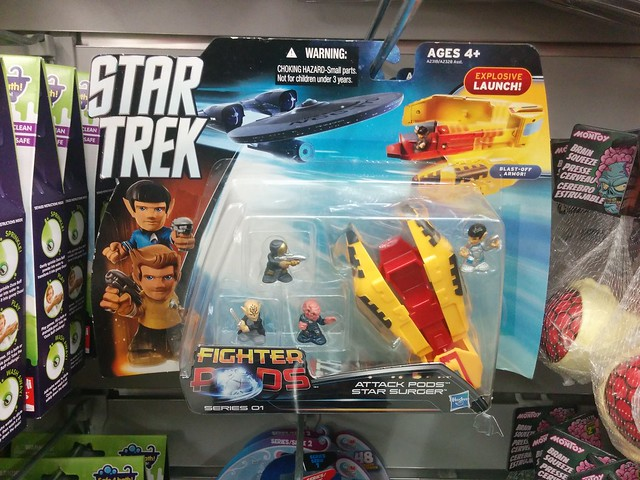 Star Trek Beyond fighter pods @ $C 4 (1) #toronto #dollarama #parliamentstreet #cabbagetown #startrek #startrekbeyond #toys