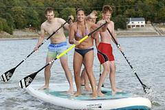 Paddleboardová sezóna začíná v nymburském přístavu