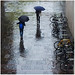 Brollies in the wet by Ginger Meggs