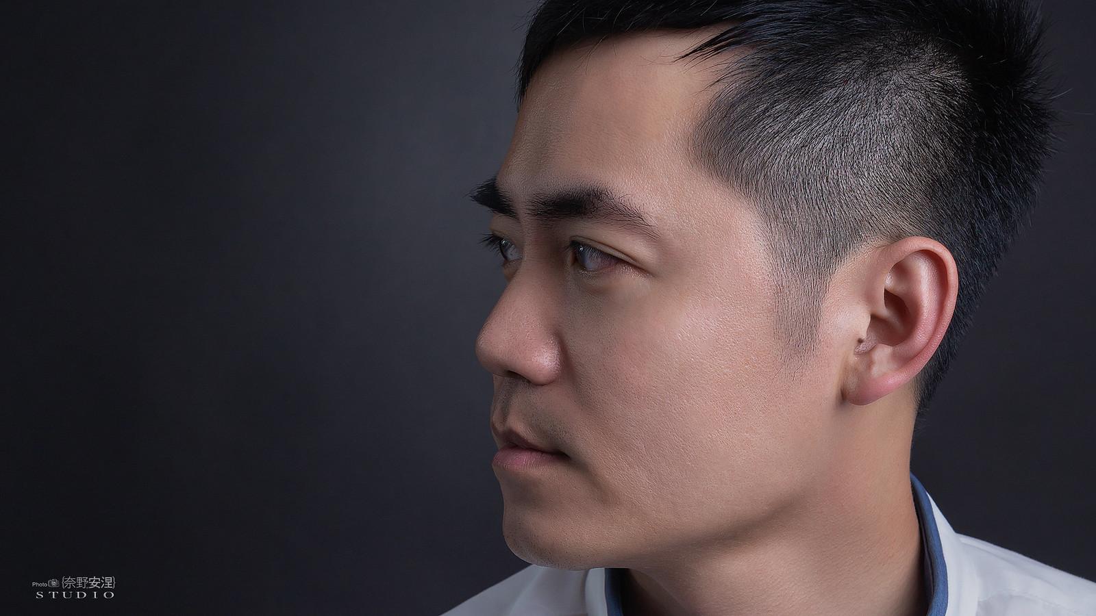 南部髮品金牌型男業務-昇澤髮品 |攝影白棚1-1