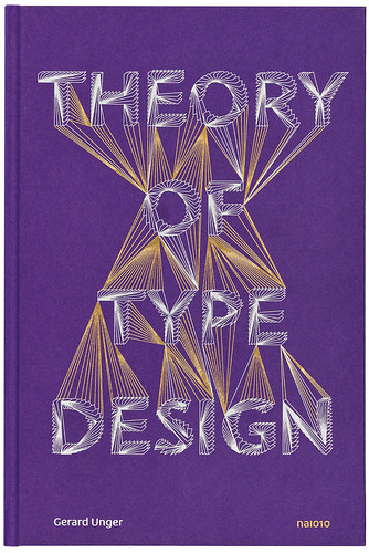 Cover of Theory of Type Design, designed by Hansje van Halem.