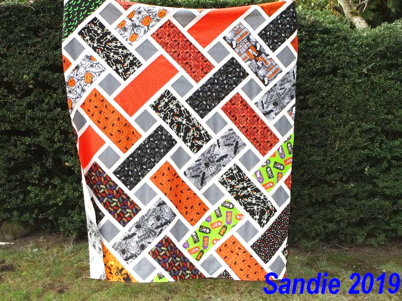 Sandie's Lap Size Tessa Quilt