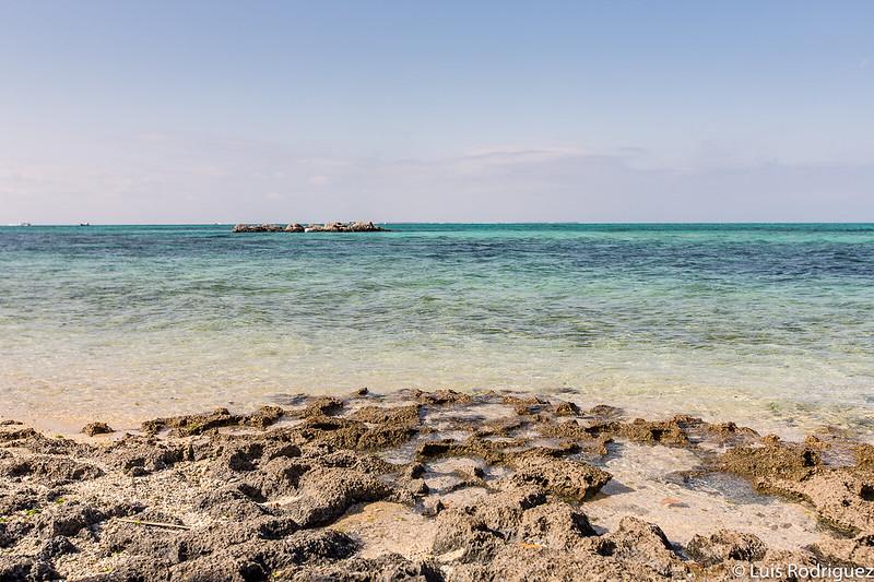 Vistas desde una de las playas de Taketomi