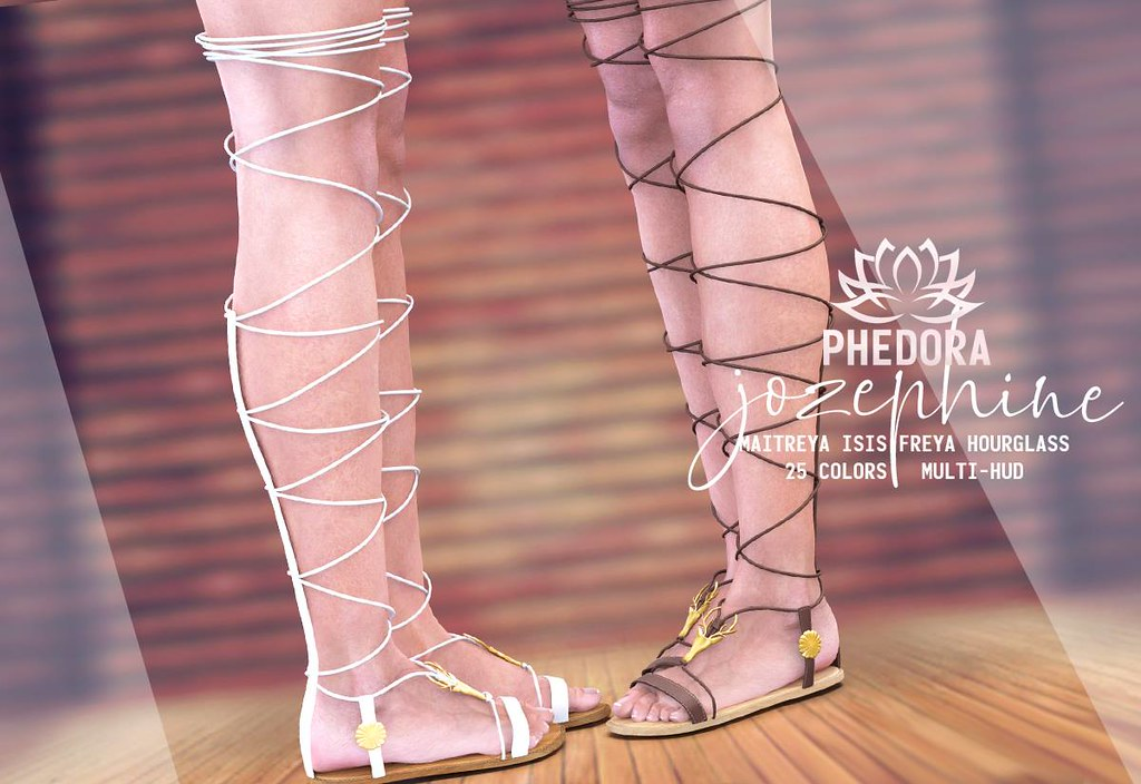 "Phedora for Uber – ""Josephine"" sandals ♥"