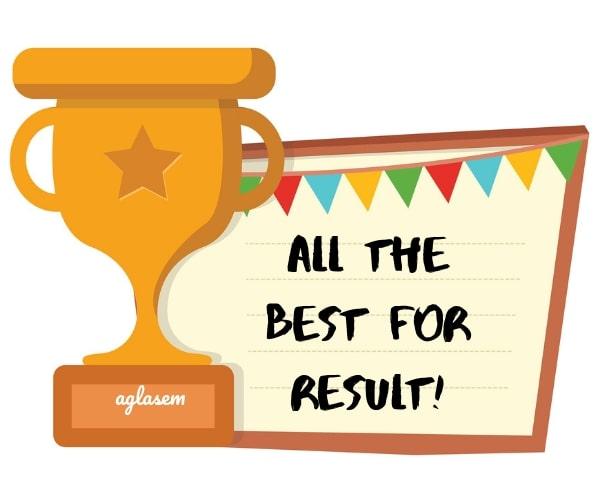 CSIR NET Result June 2019 Best Wishes