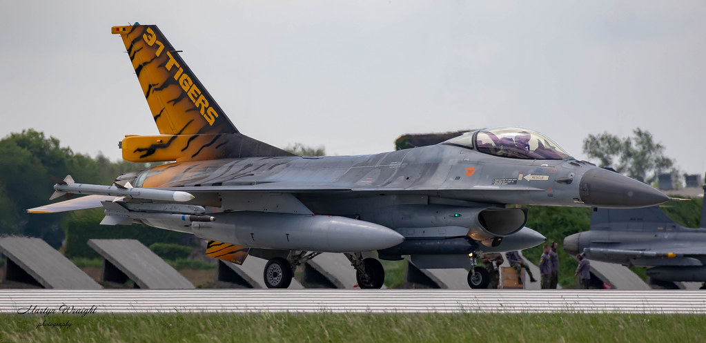 Belgium Air Component F16 Falcon From 31 Tiger Sqn Based Flickr