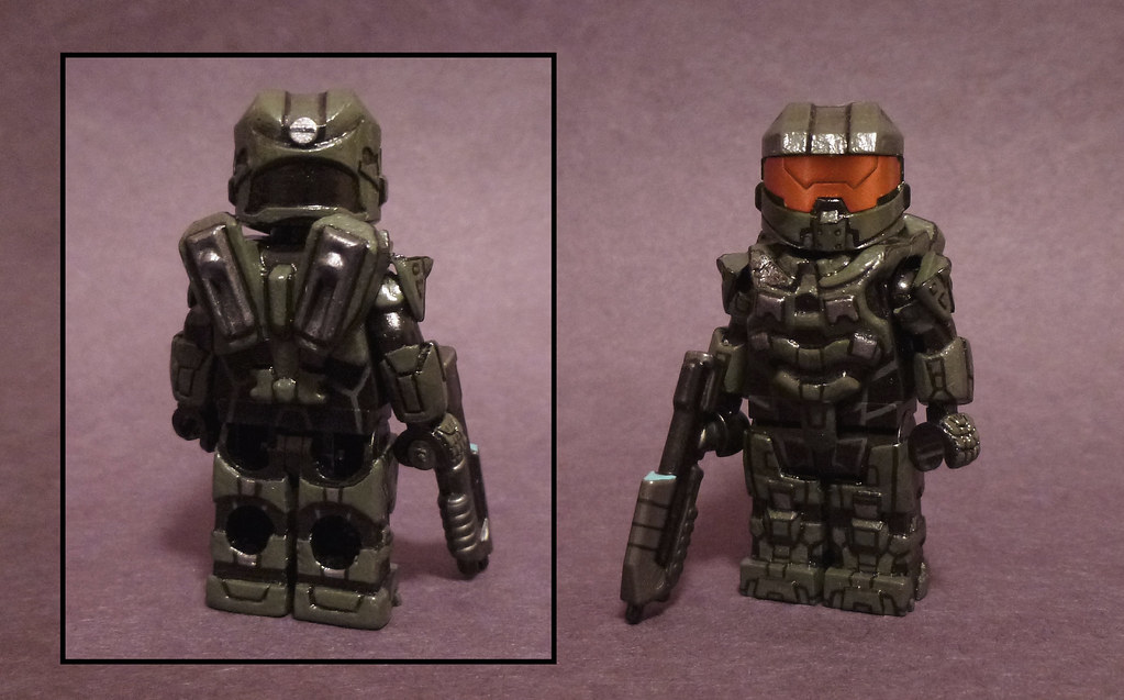 Custom Lego Halo 4: Master Chief | aka the 343 redesign of C