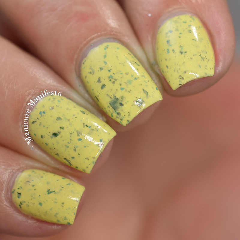 Girly Bits Peep Calm and Polish On review