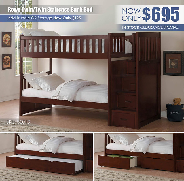 Rowe Twin over Twin Staircase Bunk Bed_B2013_update