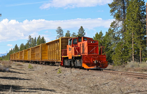 trains railroads klamathnorthernrailway knor sl144 centercablocomotive knor207 crescent oregon