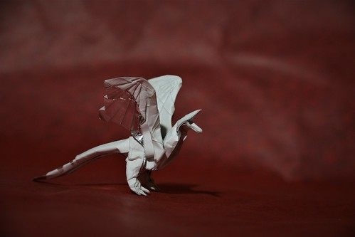 Origami Archaeopteryx