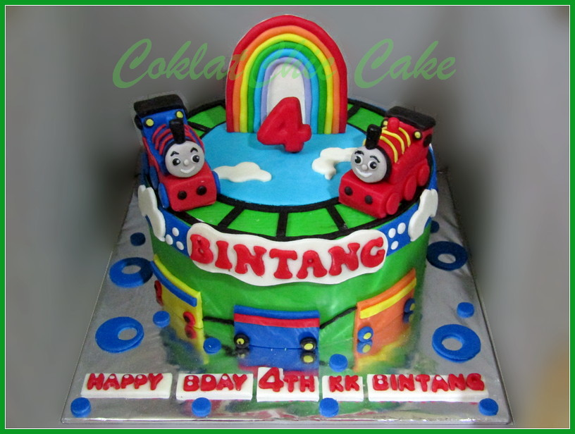 Cake Thomas The Train BINTANG 20 cm