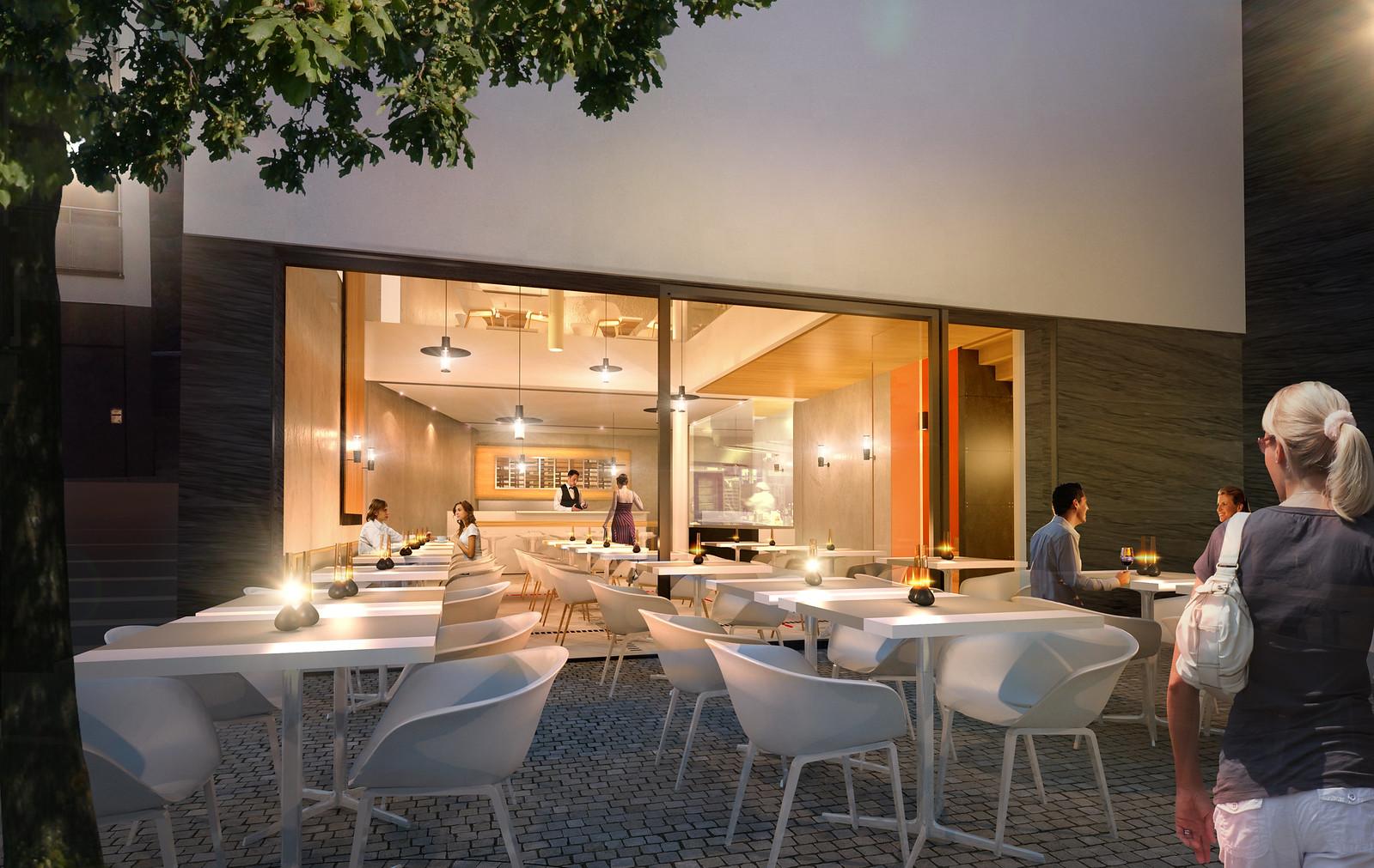 Restaurant, Lausanne