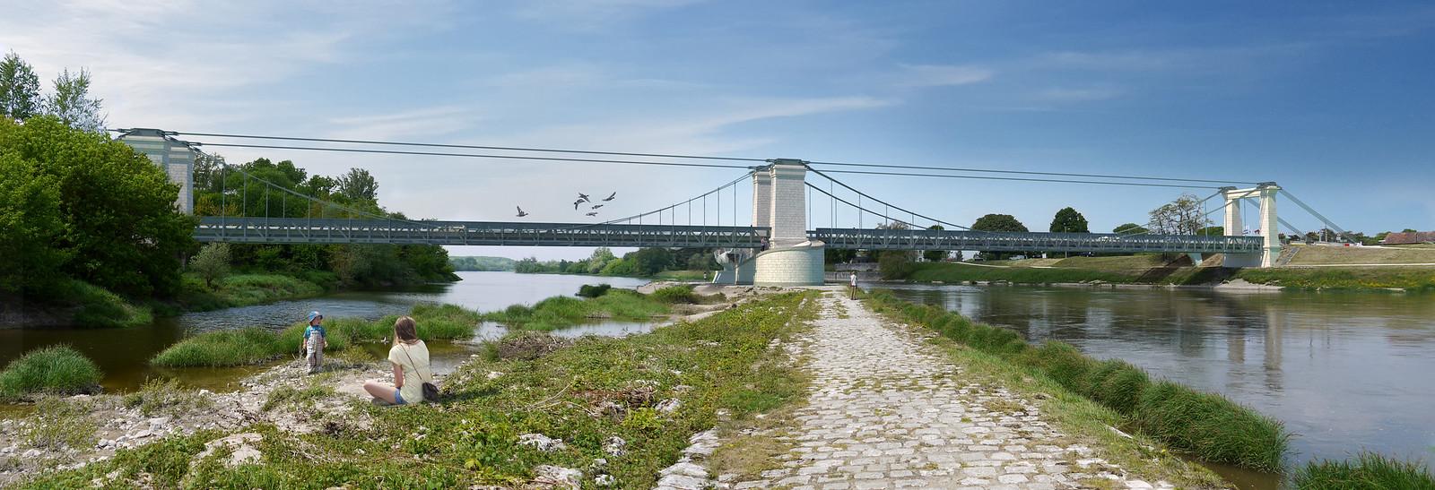 Pont de Châtillon – digue, Châtillon