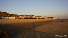 Avond foto, strand tussen Vlissingen en de Dishoek