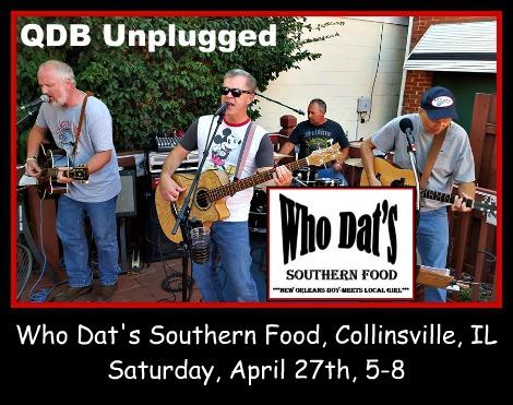 QDB Unplugged 4-27-19