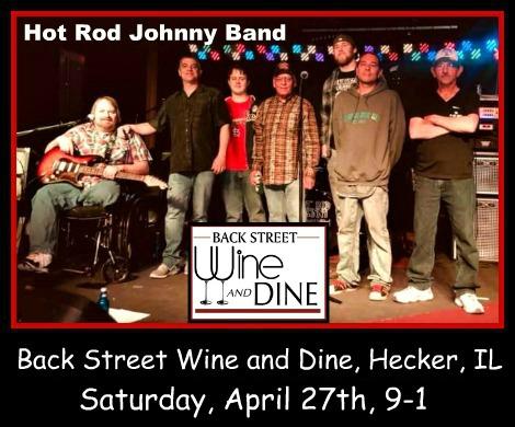 Hot Rod Johnny Band 4-27-19