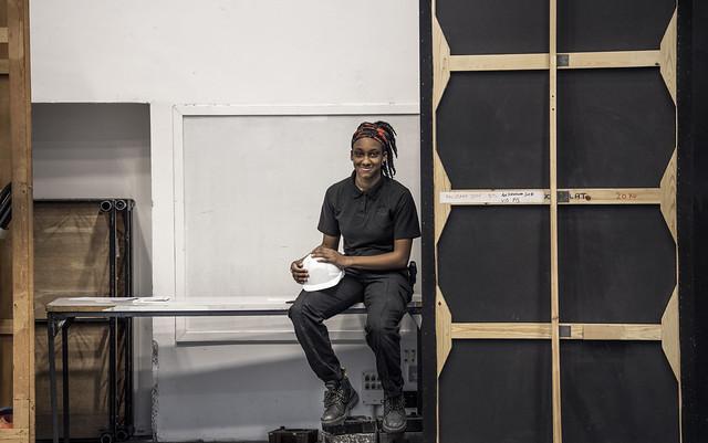 Hosanna Johnson, Technical Theatre Apprentice © 2019 ROH. Photograph by Sim Canetty-Clarke