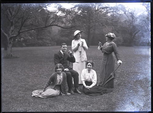 Nostell Priory Ladies, Aug 1914 | by David Knights-Whittome Photographic Archive