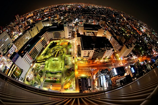 Tokyo Nights - Samyang 8mm f2,8 UMC FISH EYE II