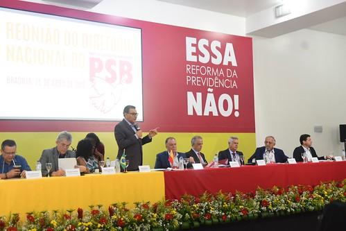 Reunião do Diretório Nacional sobre Reforma da Previdência - 25/4/2019