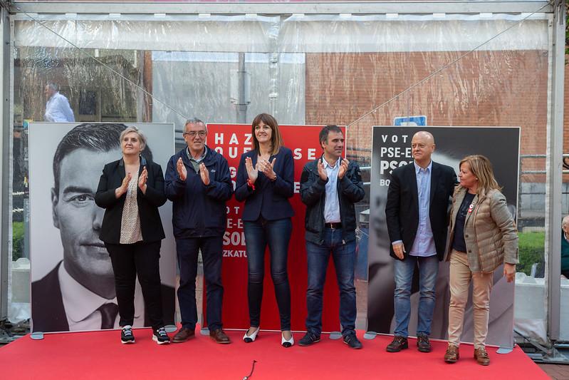 Acto político en Eibar #28A