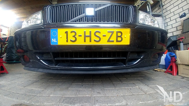 Volvo S80 2.4T Splitter Lip