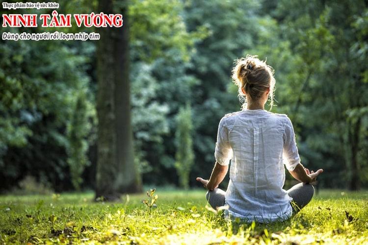 Thư giãn tinh thần, tập luyện thể dục là cách hiệu quả để ổn định thần kinh tim