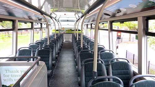 YN19 EEV 'Nottingham City Transport' No. 462 'Brown Line 17'. Scania N280UD / Alexander Dennis Ltd. Enviro 400CBG City /5 on Dennis Basford's railsroadsrunways.blogspot.co.uk'